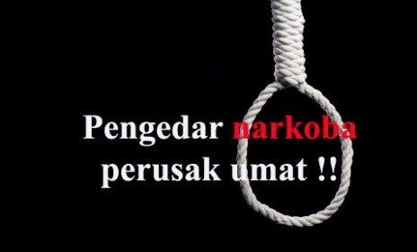 hukuman mati pengedar narkoba