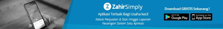 aplikasi software akuntansi zahir simply 780-12